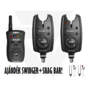 Delphin ROLER 9V 2+1 kapásjelző szett + CSWII swinger + Snag bar ajándék