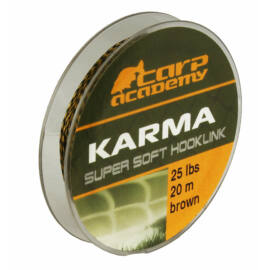 Carp Academy Karma Hooklink Camo Előkezsinór