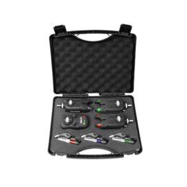 Delphin OPTIMO 9V 3+1 kapásjelző szett + CSWII swinger + Snag bar ajándék