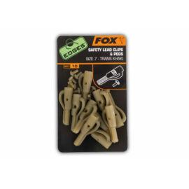 FOX Edges Lead Clip + Pegs Biztonsági ólomkapocs és csapszeg