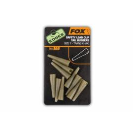 FOX Edges Lead Clip Tail Rubbers Gumikúp biztonsági ólomkapocsra