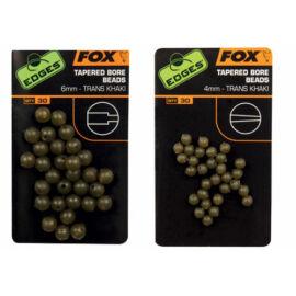 FOX Edges Tapered Bore Beads Gyöngy ütköző 4mm