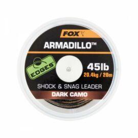 Fox Edges™ Armadillo Dark Camo 45LB Fonott Előtétzsinór