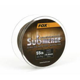 FOX Submerge™ Sinking Braided Mainline Fonott Főzsinór