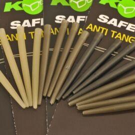 Korda Anti Tangle Hooklink Sleeves Gumicső (Clay)