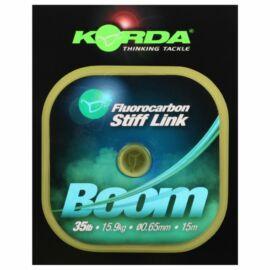 Korda Boom Fluorocarbon Krimpelhető Monofil Zsinór (0,65mm)