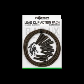 Korda Basix Lead Clip QC Action Pack Gubancgátló Cső