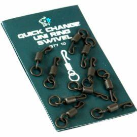 Nash Quick Change Uni Micro Ring Swivel Nagykarikás Gyorskapocs