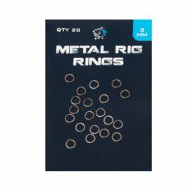 Nash Metal Rig Rings Acélkarika