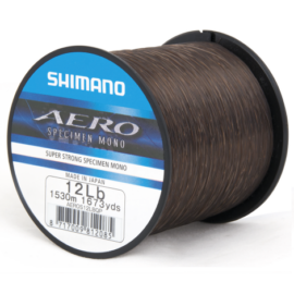 Shimano AERO Specimen Mono Bojlis Zsinór 0,31mm (AEROS12LBQP)