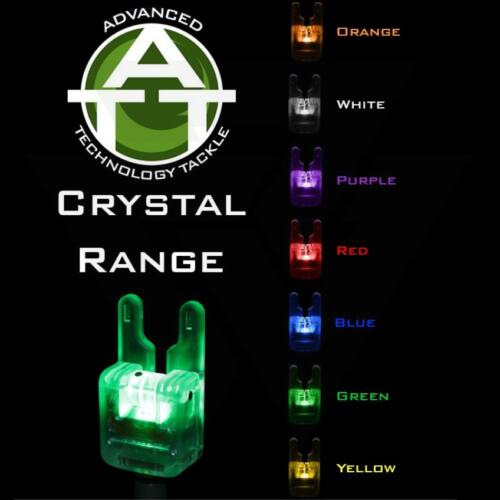 ATTs Crystal Illuminated Wheel Bite Alarms Elektromos Kapásjelző