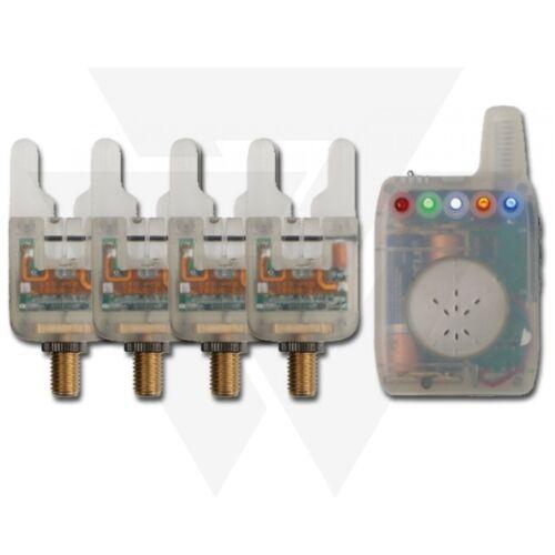 ATTs / ATTx Crystal Alarms Elektromos 4+1 Kapásjelző Szett