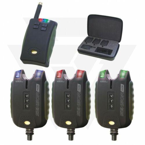 Carp Academy Sensor WDX Set 3+1 Kapásjelző Szett