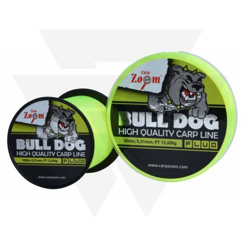 Carp Zoom Bull-Dog Fluo Carp Line Monofil Zsinór 1000m