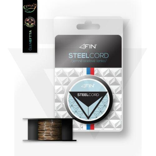 Fin Steel Cord bevonatos előkezsinór