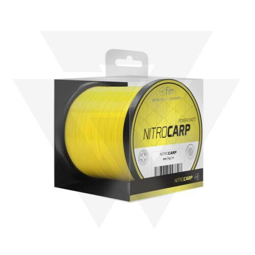 FIN Nitro Carp Fluo Monofil Főzsinór (+ajándék)