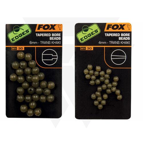 FOX Edges Tapered Bore Beads Gyöngy ütköző 6mm