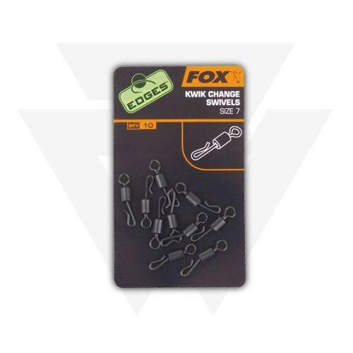 FOX Edges Kwik Change Swivels Gyorskapcsos forgók