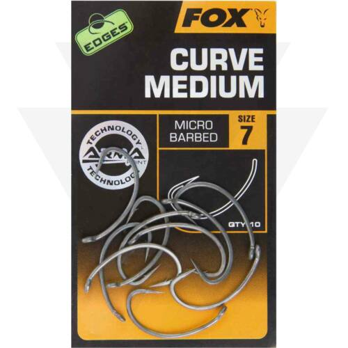 FOX Edges Armapoint Curve Shank Medium Horgok