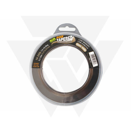 FOX EDGES™ Soft Tapered Leader Vastagodó Előtétzsinór (12-30LB 0,33 - 0,50mm)