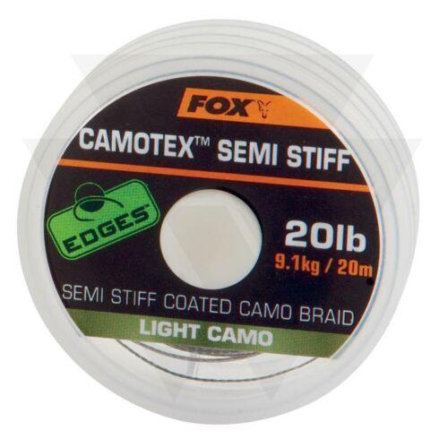FOX Camotex Light Camo Semi Stiff Bevonatos előkezsinór