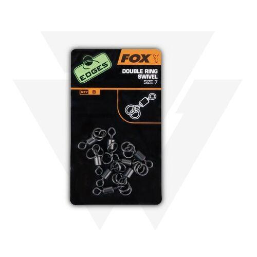 FOX Edges Double Ring Swivel Dupla Nagykarikás Forgó