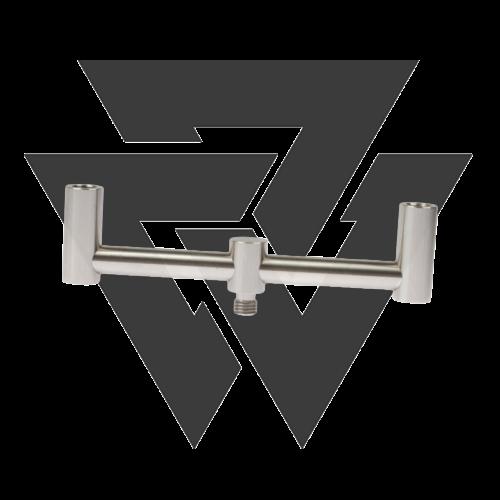 Korda Stainless Steel Singlez 2 Botos Buzzbar Kereszttartó (16,5cm)