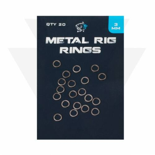 Nash Metal Rig Rings Acélkarika