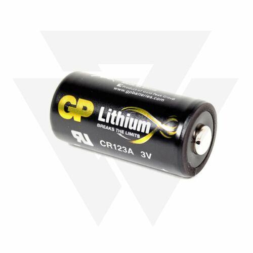 Nash R3 Receiver / S5R Receiver Batteries (CR123A) Elem