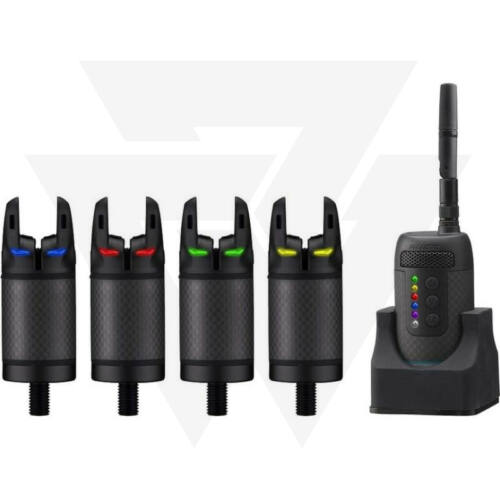 Prologic K3 Bite Alarm Set 4+1 Kapásjelző Szett (Zöld,Sárga,Piros, Kék)