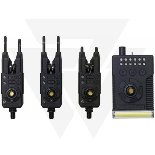 Prologic Fulcrum RMX Pro Bite Presentation Set 3+1 Multi Colour Elektromos Kapásjelző Szett