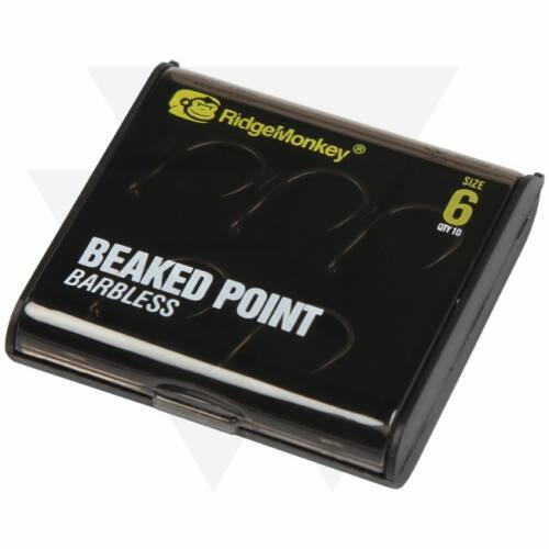 RidgeMonkey RM-Tec Beaked Point Hook Pontyozó Horog