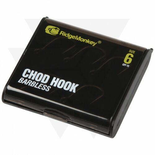 RidgeMonkey RM-Tec Chod Hook Pontyozó Horog