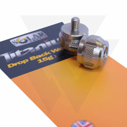 Solar Tackle P1 Drop Back Weights Titanium Swingersúly (2db)