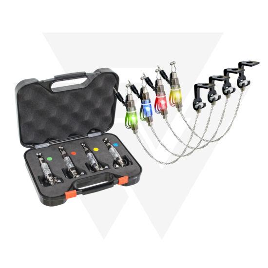 Carp Expert LED-es Láncos Swinger szett 4 botos