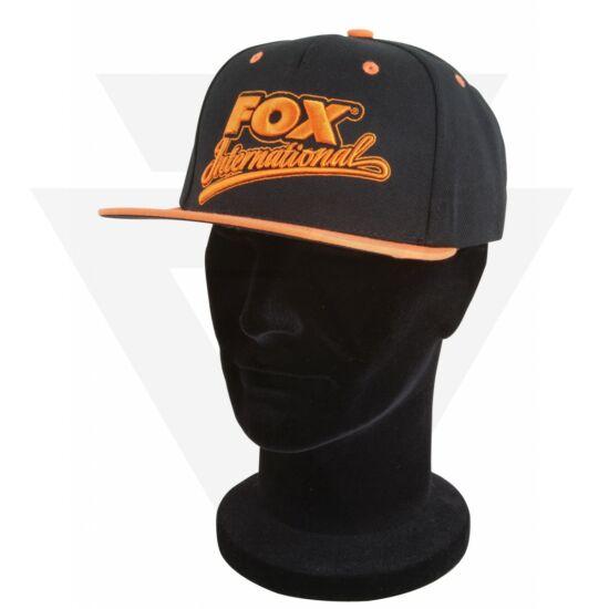 FOX Carp Snap back Cap Orange Black Baseball sapka 7cb1dd2f0d