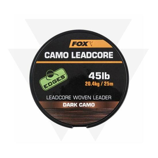 FOX Dark Camo Leadcore Ólombetétes Zsinór (25m)