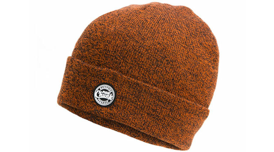 FOX CHUNK™ Beanie Orange Black Marl Hats Kötött Sapka d60b7889f6